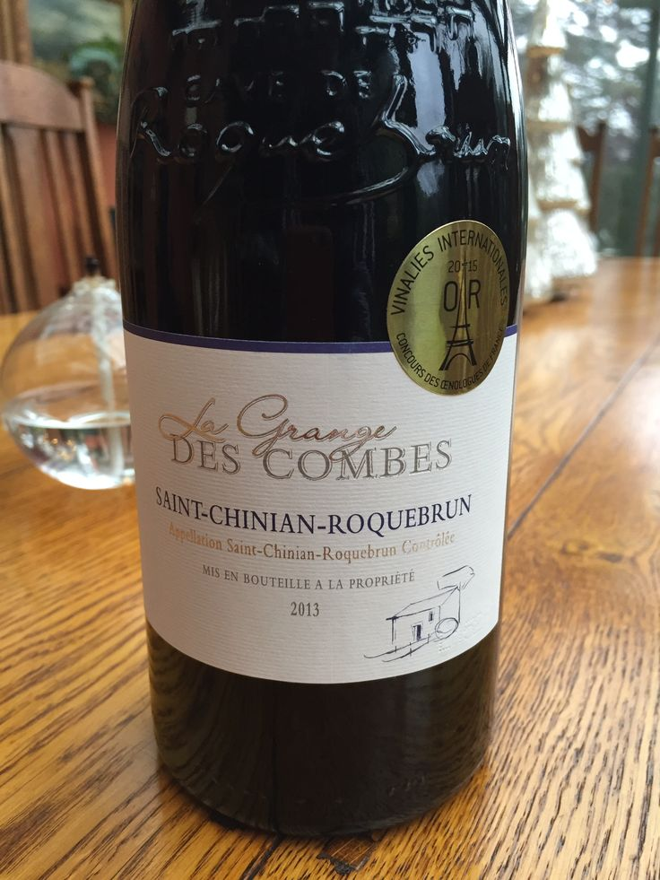A Languedoc wine that really matches with spicy food! This has spice of its own and you can taste the long hot summer days in this delicious St. Chinian.