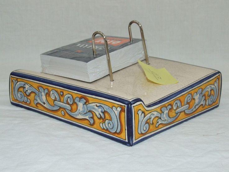 Dietario de cerámica Greca de renacimiento cadena. Precio: 60,50€  http://www.artesania-alla.es