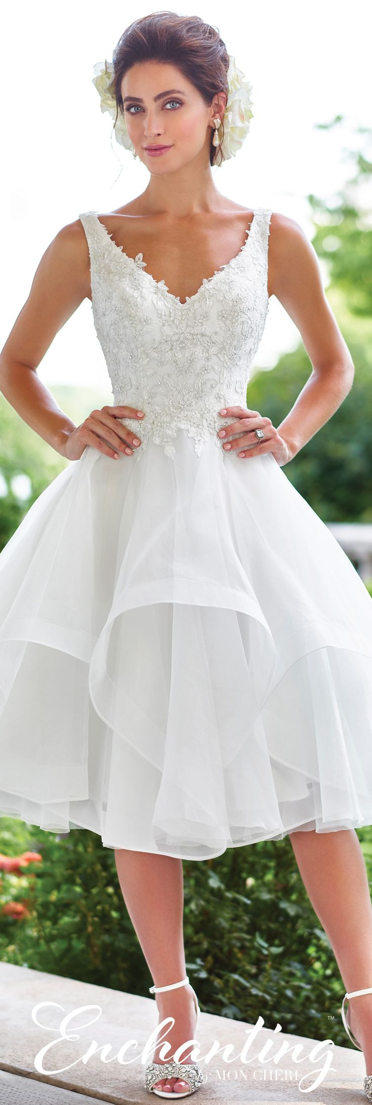 Best 25 Short wedding gowns ideas on Pinterest  Short