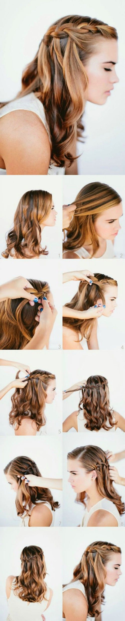 Superb 1000 Ideas About 5 Minute Hairstyles On Pinterest Hairstyles Hairstyles For Women Draintrainus