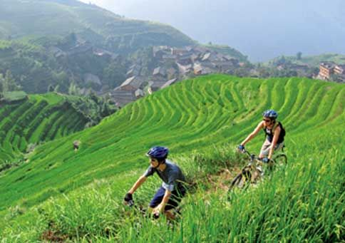 Aussie duo Naomi Skinner and Scott Spencer have guided biking tours everywhere from Mongolia to Vietnam, but their favorite routes lie inside southern China's lush rural hinterlands