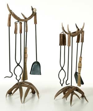 Fireplace tools and Fire pits