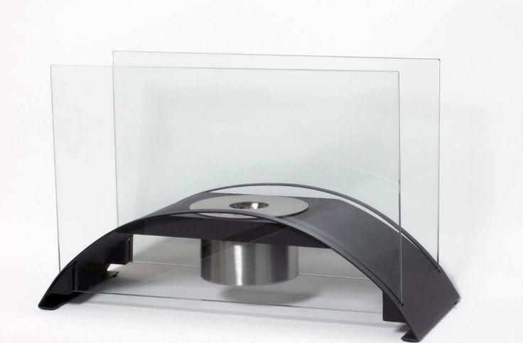 Bio-ethanol tafelhaard model Chandler zwart - 8718375590959 - Avantius
