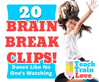Here's another great list of fun brain break dance videos for the classroom! These quick vids will give your students the energy release they need during the school day. Try them out and let me know what you think! It's always fun to hear about classroom favorites. :-)