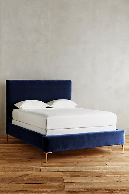 velvet edlyn bed unique bed framesbedroom - Unique Bed Frame