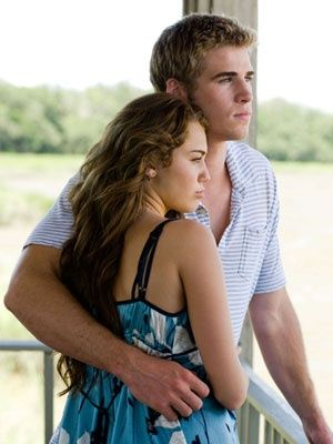 Miley Cyrus and Liam H. ....#TheLastSong