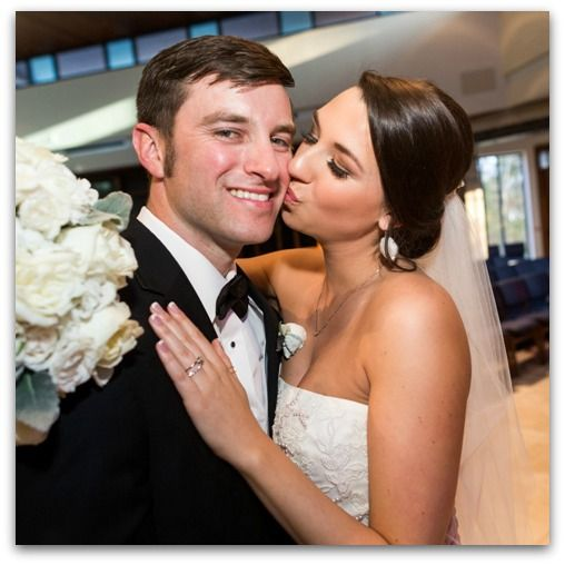 Real Wedding: Kristine Mullins & Adam Riggs Photo: Scott Kelley Photography