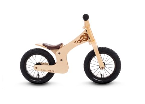 The Early Rider Lite - the smallest, lightest balance bike suitable from approximately 20 months. Made by Early Rider.