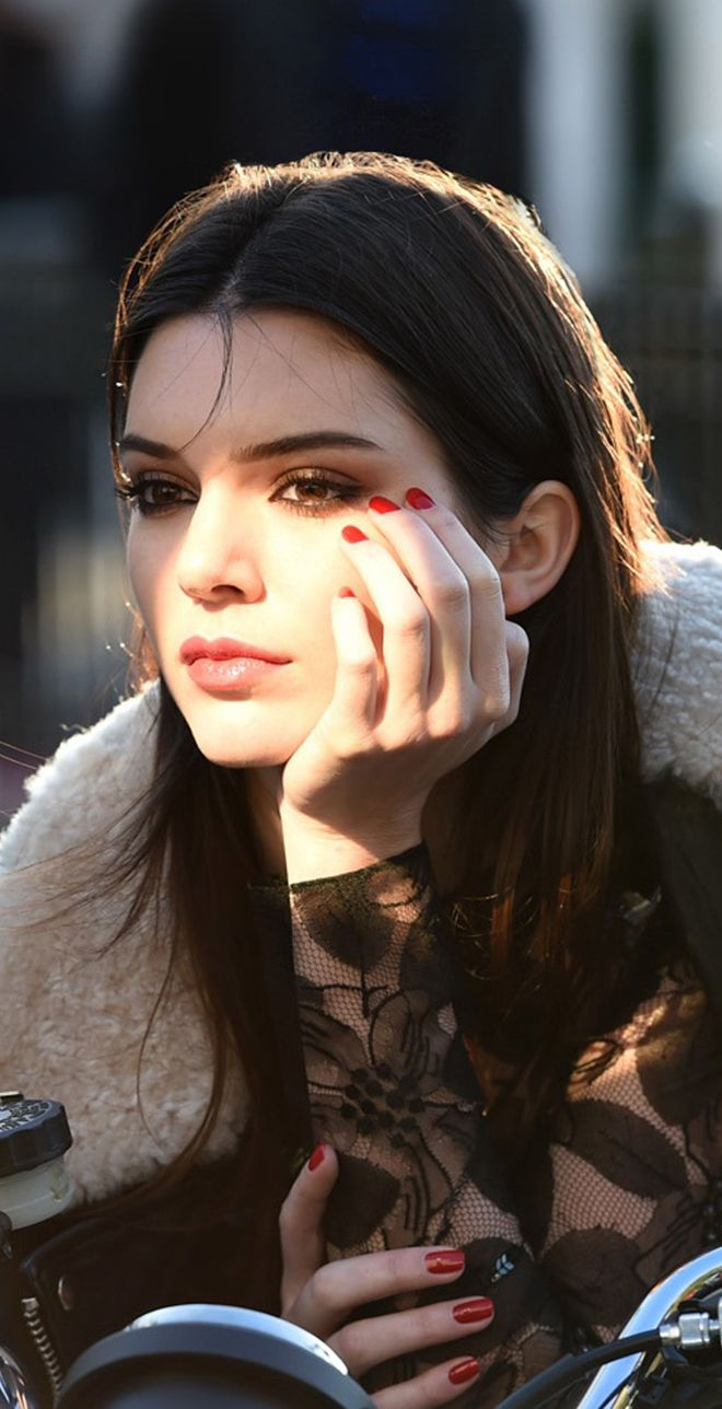 Kendall Jenner. The New Face For Estee Lauder. 2014