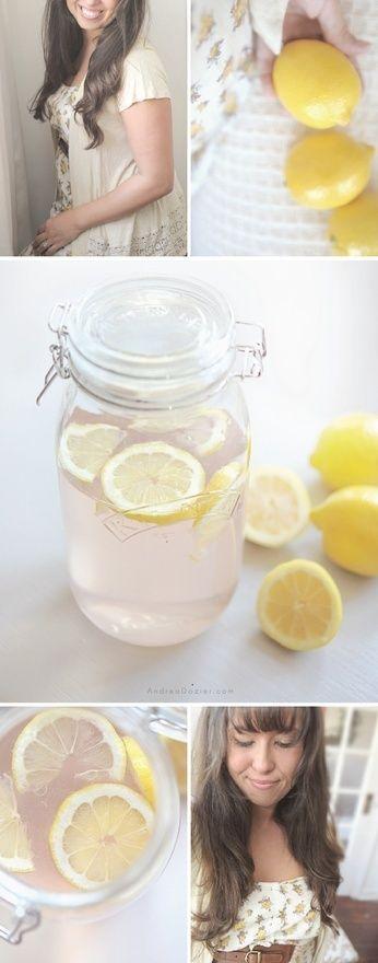Jillian Michaels no-puffiness drink: 60 oz of purified water 2 tablespoon's lemon juice 1 tablespoon sugar free cranberry juice 1 dandelion root tea bag