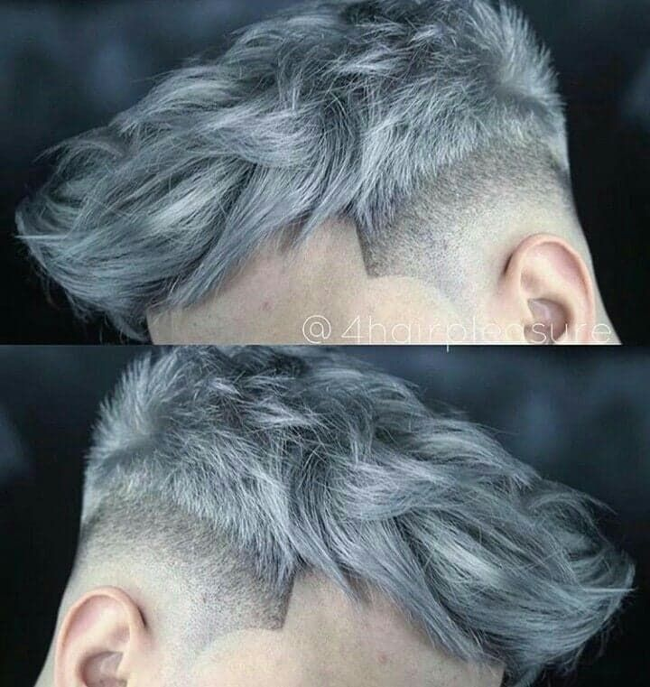 Pin By Rebecca Sweet On Hair Wax Color In 2020 Men Hair Color Grey Hair Color Men Dyed Hair Men