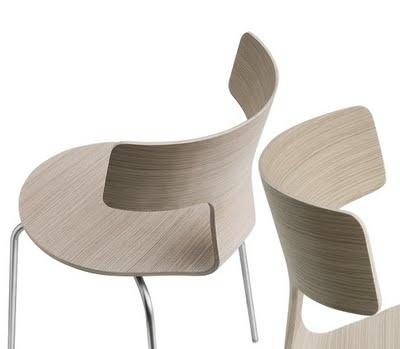 Design Chair - Fedra - by Leonardo Rossano - read more: http://myartistic.blogspot.com/2011/07/sedia-design-fedra-designer-leonardo.html