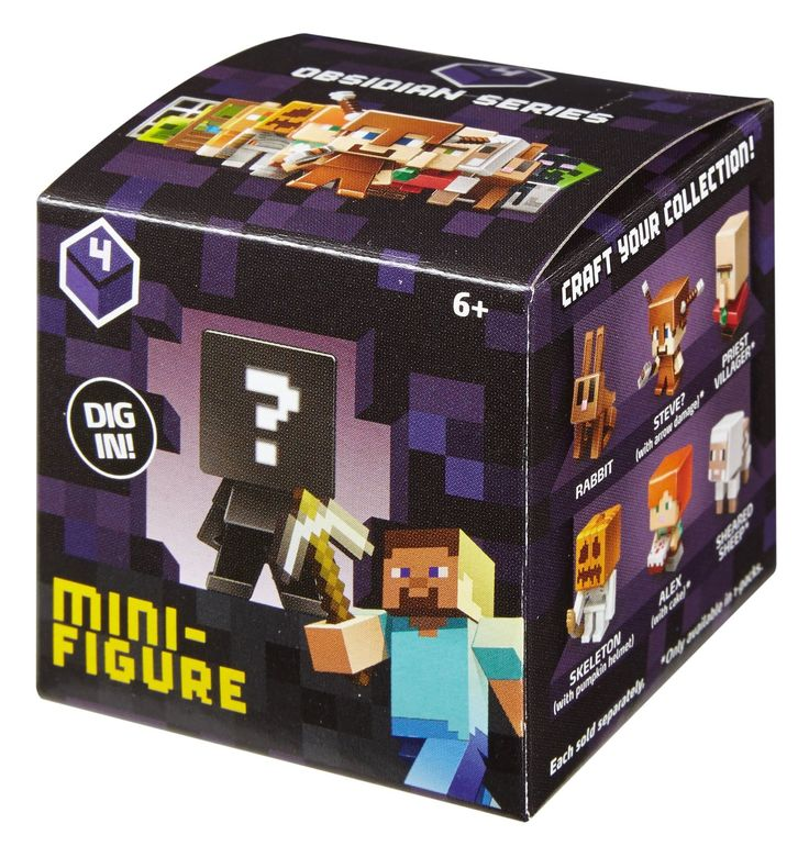 "Dig in to the world of Minecraft like never before! ""Buried"" inside each 1-pack is a unique Minecraft Mini-Figure just waiting to be discovered -- you never know which figure you'll find next until yo"