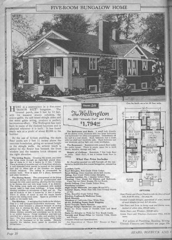 Sears Catalog Old Homes