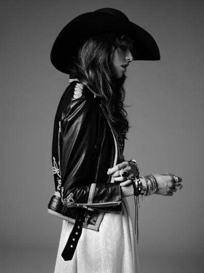 Grace Hartzel by Hedi Slimane for Saint Laurent PSYCH ROCK Pre-Fall 2015