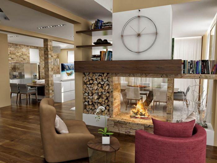 25+ parasta ideaa Wanduhren Wohnzimmer Pinterestissä Wohnzimmer - moderne wohnzimmeruhr