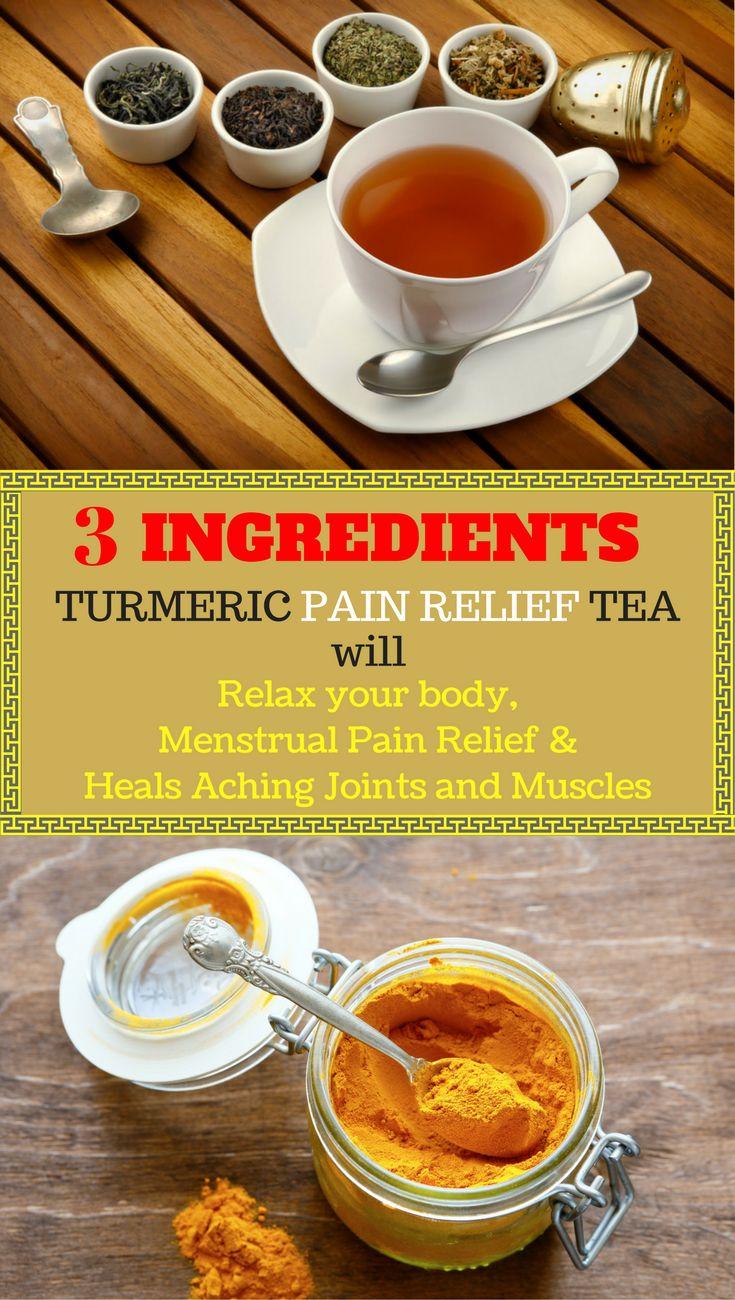 RECIPE: How To Make Turmeric Pain Relief Tea?  #recipe #health #healthremedies #homeremedies