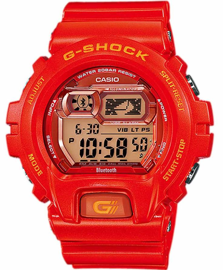 CASIO G-Shock XL Bluetooth Limited Edition Red Rubber Strap Τιμή: 225€ http://www.oroloi.gr/product_info.php?products_id=36877