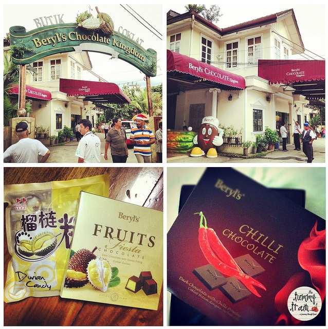 {Malaysia 2012} Loved the chilli chocolate from Beryl's Chocolate Kingdom! Click on the link to learn more about my visit to Malaysia!