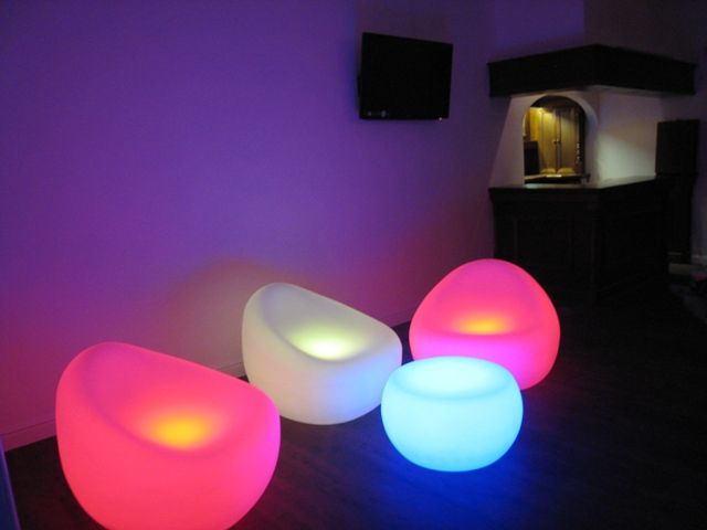 Decorating Ideas For Glowing Furniture
