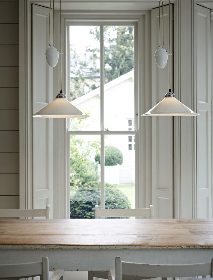 Original BTCs Cobb Rise Fall Pendants Allow You To Adjust Height And Vary Lighting Effects Making Them The Ideal Choice For Dining Tables Kitchens