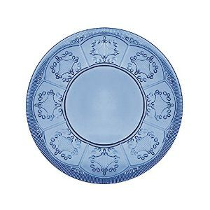 Amazon.com | Trestle Collection, Plate, Dark Blue: Dinner Plates