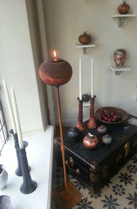 Interior/ Ceramics/ Raku