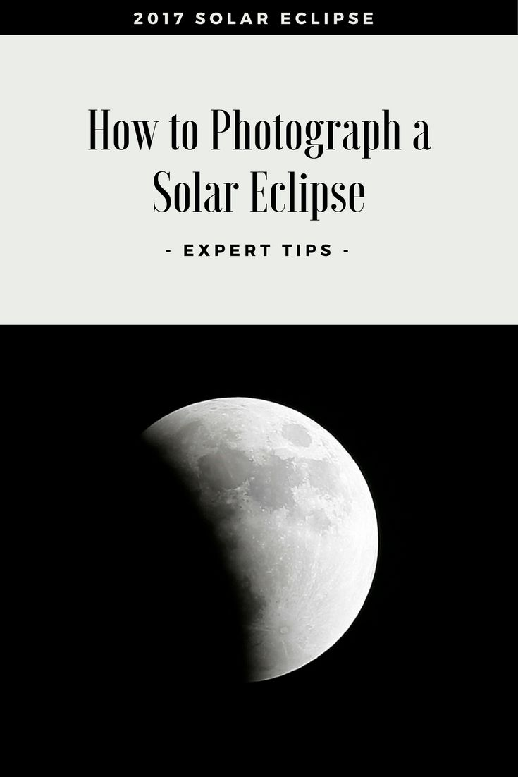 How to photograph a solar eclipse http://trib.al/2LgD7qd