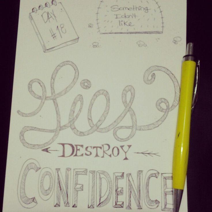 Lies destroy confidence
