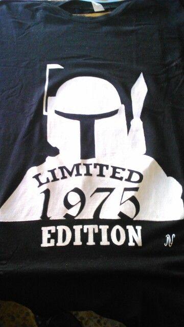 Camiseta para cumpleaños