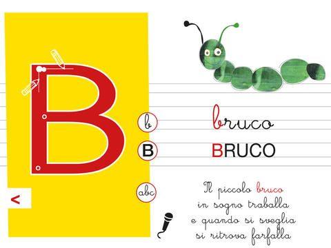ABC alla scoperta delle lettere dell'alfabeto (Ebook per insegnare l'alfabeto ai bambini)