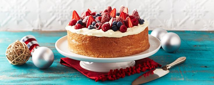 This beautifully light cake uses three types of milk to give it a wonderful richness.