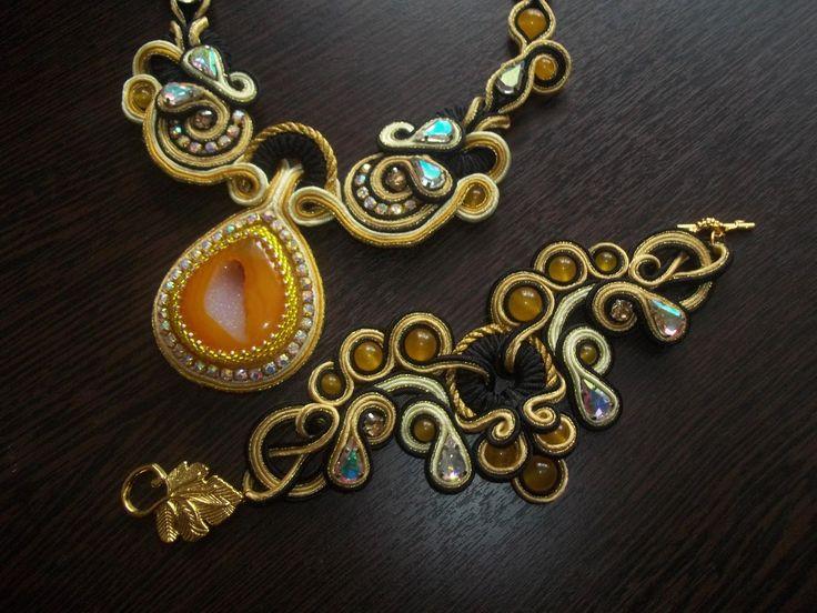Комплект Скарлетт. | biser.info - всё о бисере и бисерном творчестве