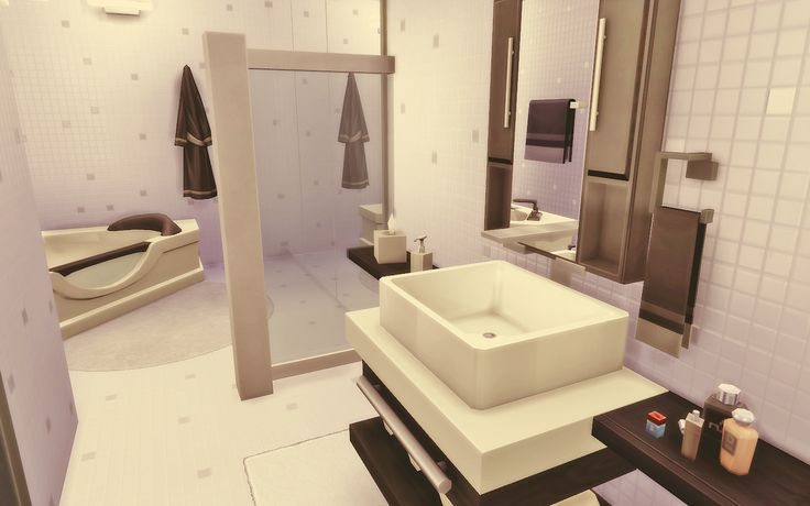 Casa moderna The Sims 4 download