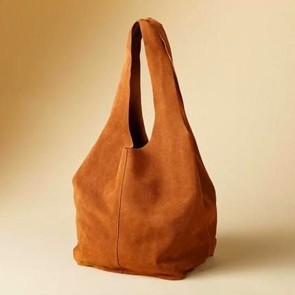 Make Your Own Leather Soho Slouch Tote - Gratis Schnittmuster Schatzkiste