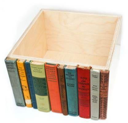 Organization Solution #4: Modern Library Storage Bins