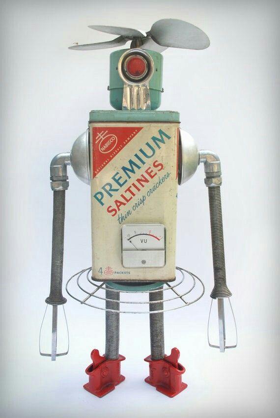 40 best Genbrugskunst images on Pinterest | Assemblage art, Recycled ...