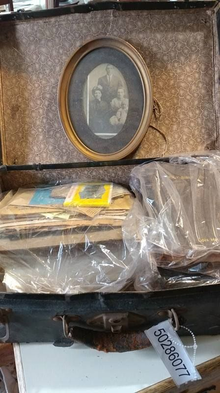 Family Treasures Found Won At Auction Thru Goodwill Industries Of