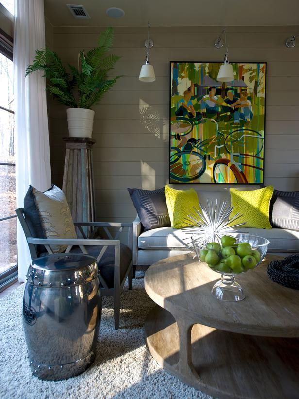 2012 HGTV Green Home Living Room