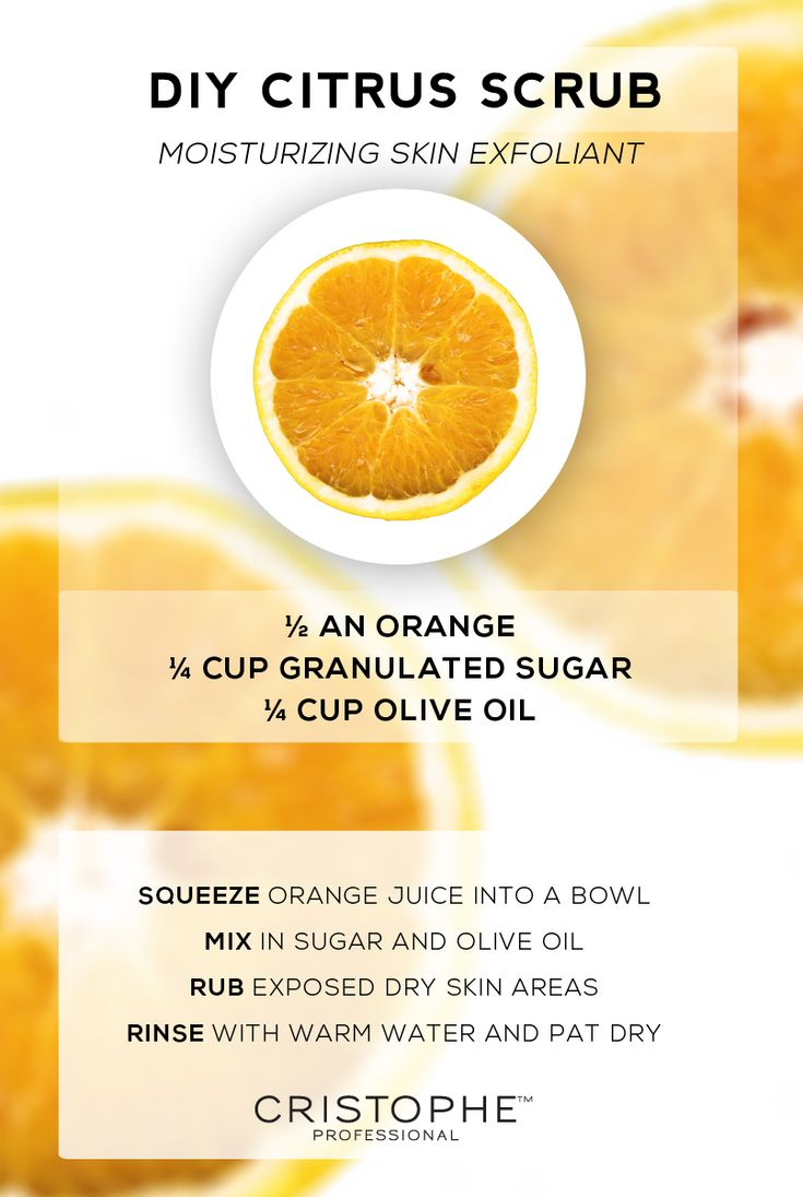 Citrus body scrub diy scrub citrus facial