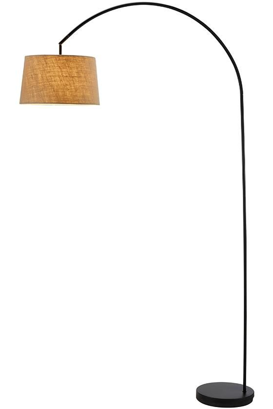 Phillips Arch Floor Lamp - For Family Room Sectional