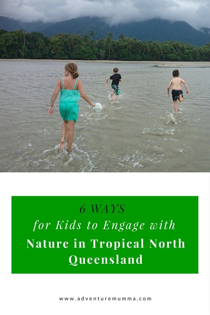 6 Ways for Kids to engage with TNQ Nature via @adventuremumma