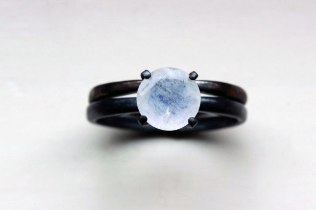 25 Unconventional + Affordable Engagement Rings via Brit + Co. I would LOVE this as my engagement ring.