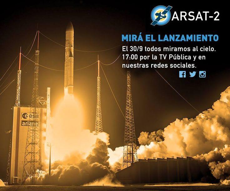 En horas, miramos al cielo #ARSAT2 #SoberaníaSatelital