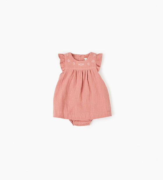 Image 1 of Crepe dress from Zara