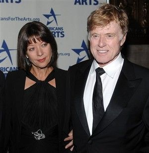 robert redford's wife picture | Robert Redford and his wife Sibylle Szaggars AP Photo/Evan Agostini