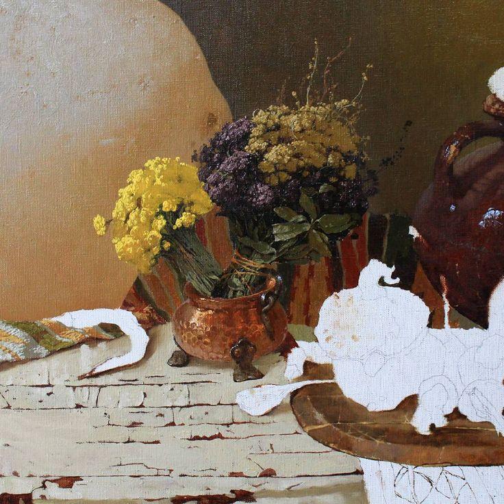 #живопись#живописьмаслом#сухоцветы#натюрморт#украина#реализм#paint#oil#oilpainting#art#artstudio#artwork#newartwork#paintanyway#kharkovgram#kharkov#kharkivgram#contemporaryart#flowers#rogowoiart