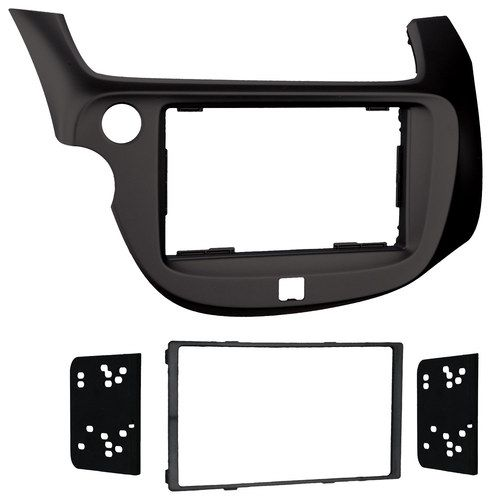 Metra - Installation Kit for Select 2009 and Later Honda Fit Vehicles - Matte Black