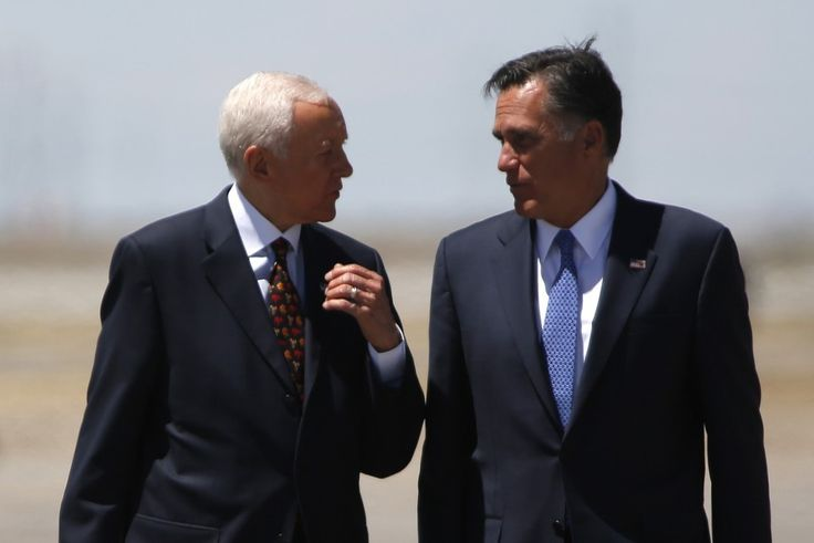 Mitt Romney has privately told allies that if the Utah senator follows through, he plans to run to replace him.