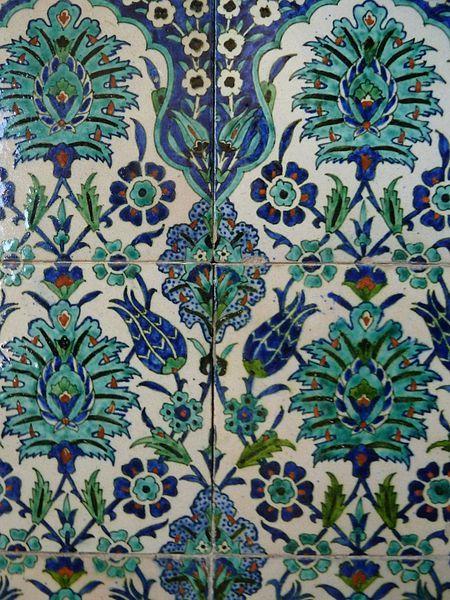 קובץ:Armenian tiles at St. Andrew's Guesthouse, Jerusalem  P1130741.JPG